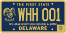 Delaware William Henry School Alumni tag