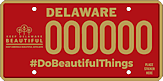 Keep Delaware Beautiful License Plate