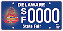 Delaware State Fair tag