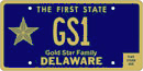 Gold Star Family tag