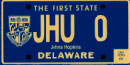 Johns Hopkins University tag