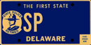 Retired State Police tag